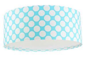 Plafon do pokoju dziecięcego Luminance E27 60W LED niebieski / biały, kropki small 1