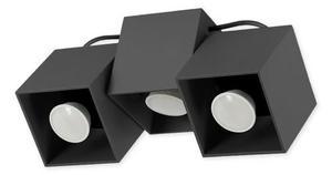 Nowoczesna Lampa Sufitowa Kraft 3 Czarna small 0