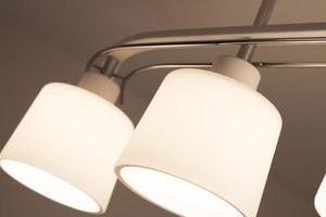 Klasyczna Lampa Sufitowa Olimp 4 Czarna small 2