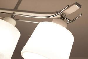 Klasyczna Lampa Sufitowa Olimp 4 Czarna small 3