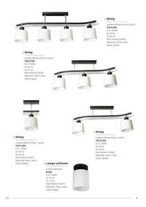 Klasyczna Lampa Sufitowa Olimp 4 Czarna small 5