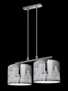 Designerska Lampa Wisząca City 2 small 1