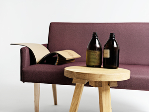 Sofa REDEN 2 os. - hematyt(ml69), naturalny small 1
