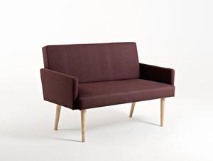 Sofa REDEN 2 os. - hematyt(ml69), naturalny small 0