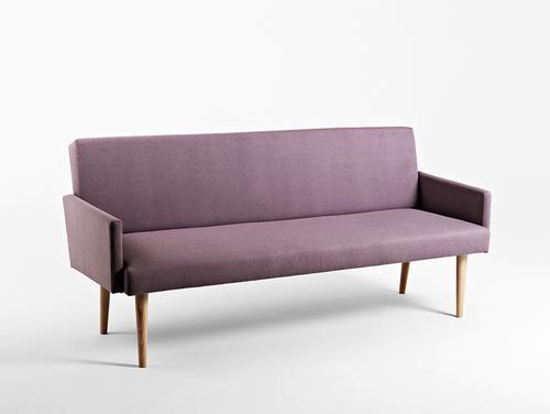 Sofa REDEN 3 os. - ametyst(ml61), naturalny