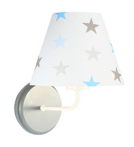 Kinkiet dla chłopca Raggio E27 60W biały / szaro-niebieskie gwiazdki small 3