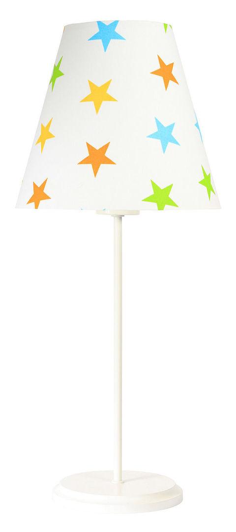Lampa na biurko Ombrello 60W E27 50cm kolorowe gwiazdki