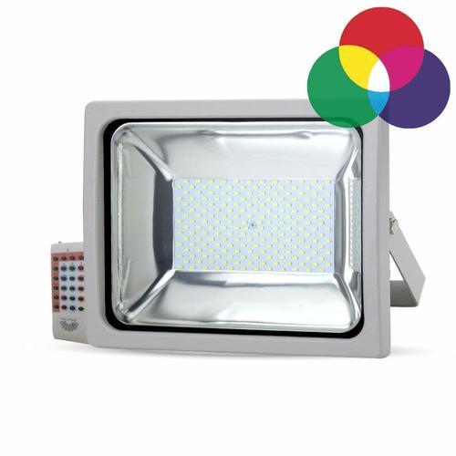 Projektor LED V-TAC 30W RGB Pilot Radiowy Obudowa Szara 2400lm VT-4732