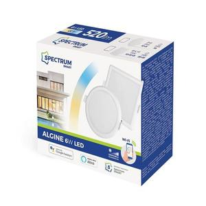 Algine 6w Cct+Dim Wi-Fi Spectrum Smart             Round small 1