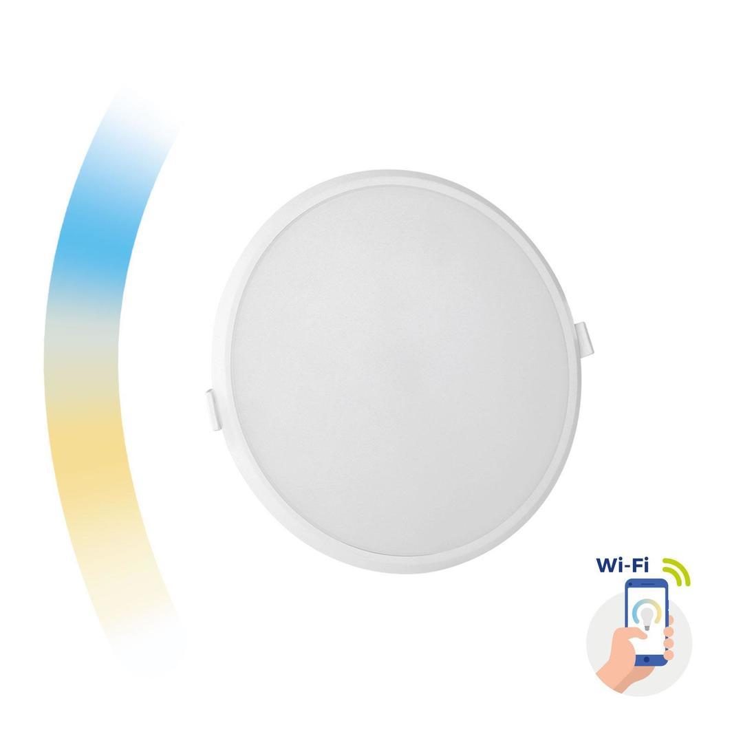 Algine 22w Cct+Dim Wi-Fi Spectrum Smart            Round