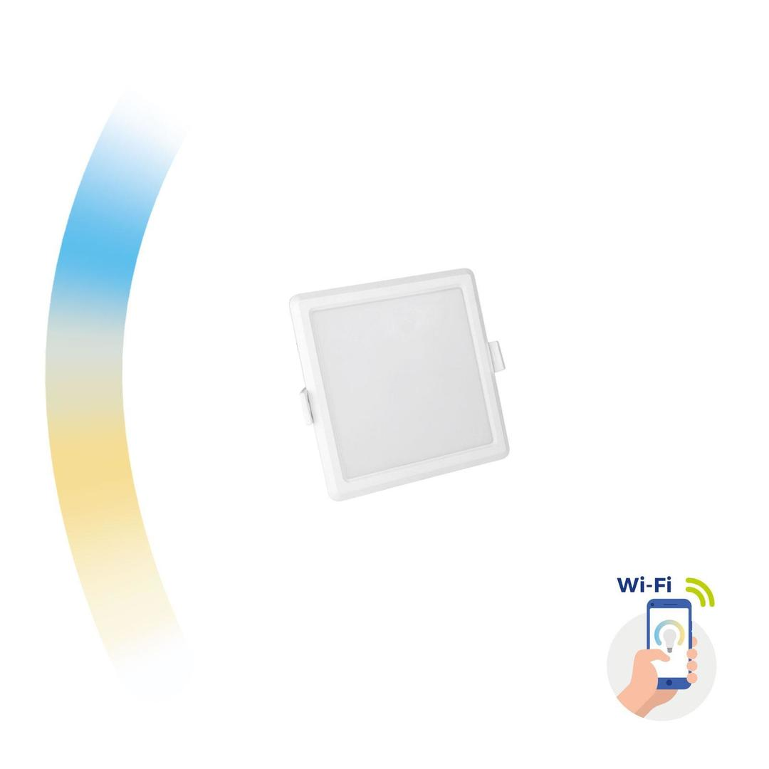 Algine 6w Cct+Dim Wi-Fi Spectrum Smart             Square