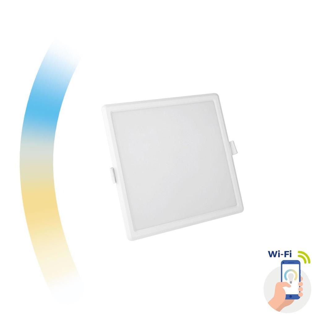 Algine 12w Cct+Dim Wi-Fi Spectrum Smart            Square