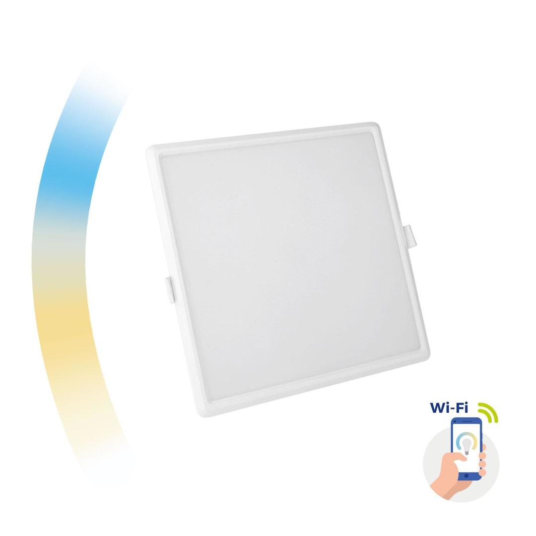 Algine 22w Cct+Dim Wi-Fi Spectrum Smart            Square