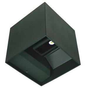 Kinkiet zewnętrzny LED Kreo 2x3w kwadrat 4000K  regulowany kąt świecenia small 1