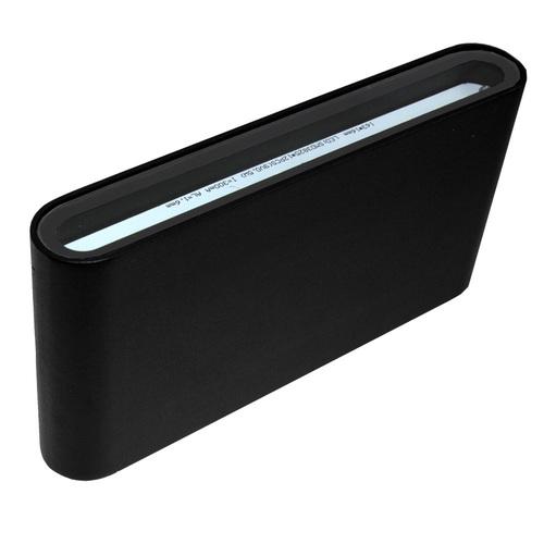 Oprawa elewacyjna Floow LED 2x6W 4000K czarna góra/dół