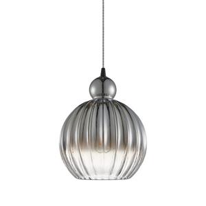Czarna Lampa Wisząca Biron E27 small 0