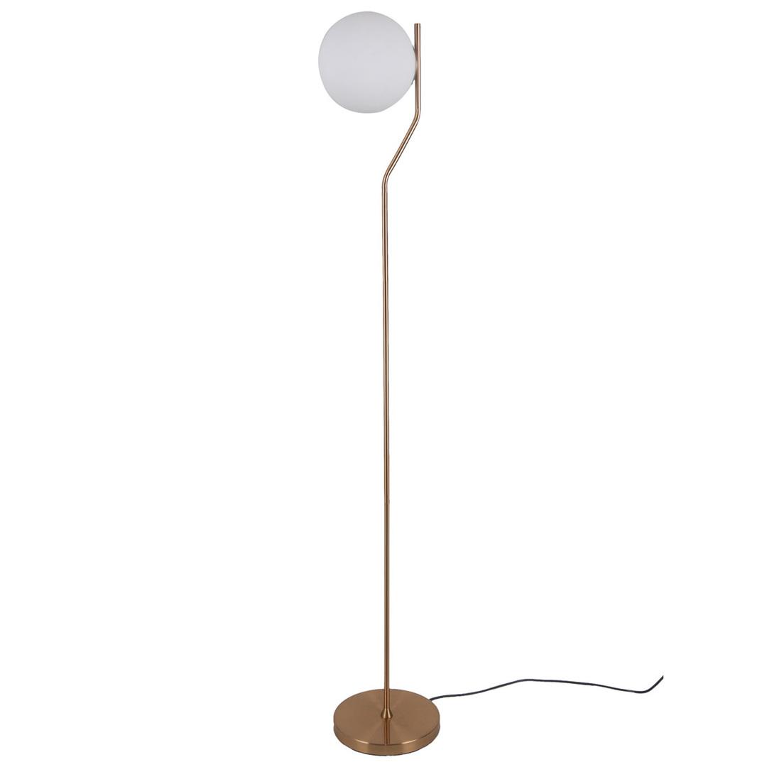 Mosiądz Lampa Stojąca Carimi E27