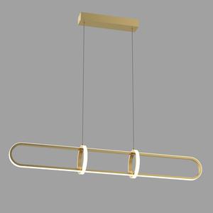 Złota Lampa Wisząca Cerrila LED small 1