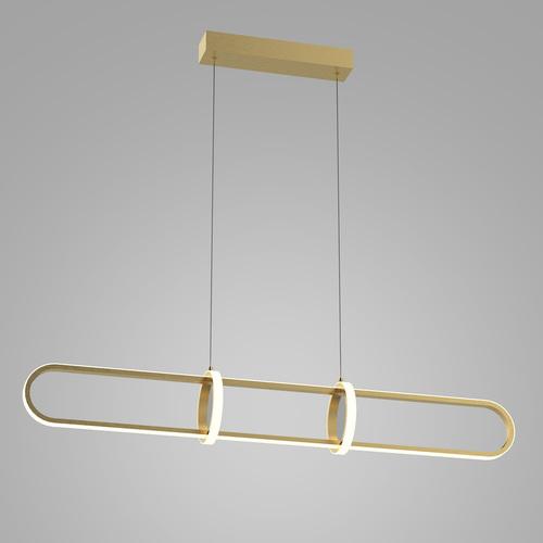 Złota Lampa Wisząca Cerrila LED