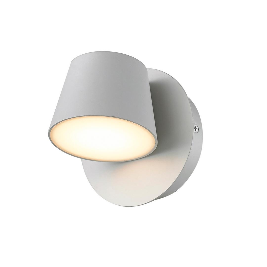 Biały Nowoczesny Kinkiet Kuola LED