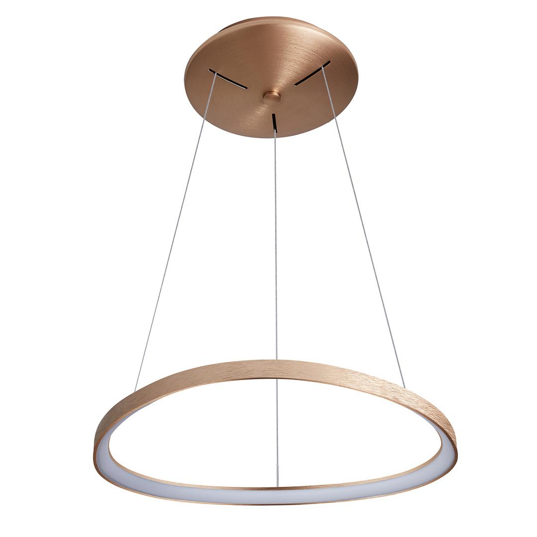 Brązowa Lampa Wisząca Morfi LED
