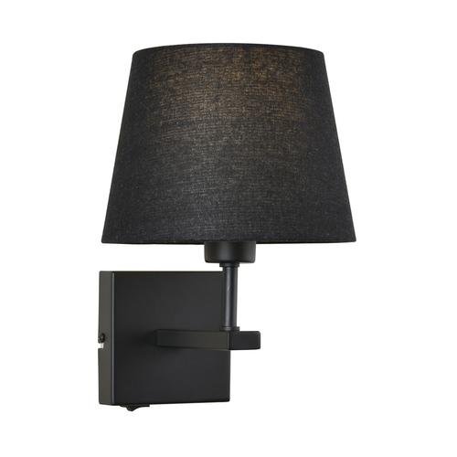 Czarna Lampki Nocne Norte E27