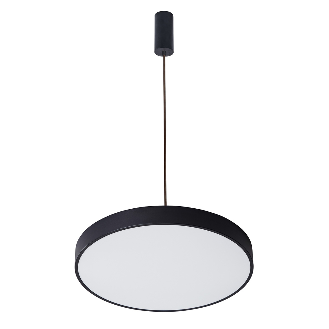 Czarna Lampa Wisząca Orbital LED