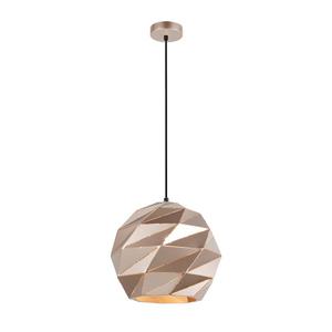 Złota Lampa Wisząca Palermo E27 small 1