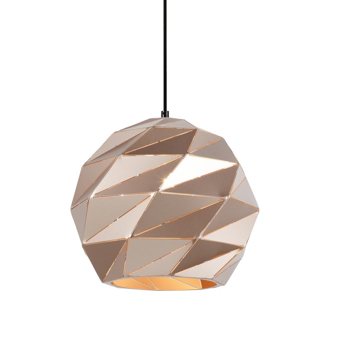 Złota Lampa Wisząca Palermo E27