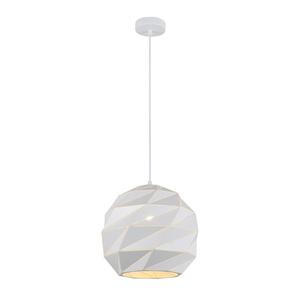 Biała Lampa Wisząca Palermo E27 small 1