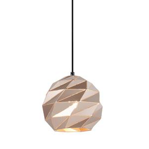 Złota Lampa Wisząca Palermo E27 small 0