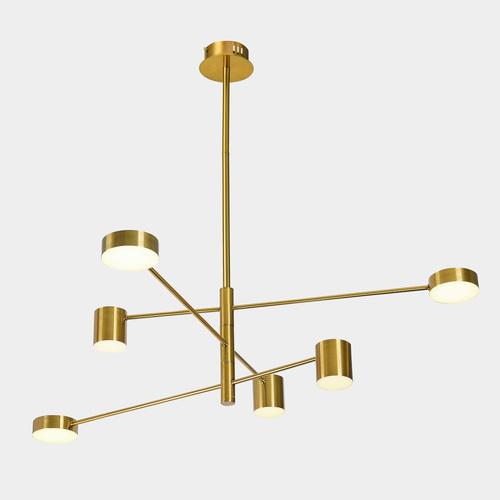 Miedziana Lampa Wisząca Remdal LED