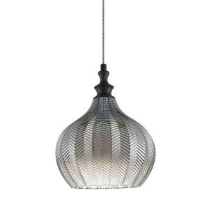 Czarna Lampa Wisząca Sabres E27 small 0