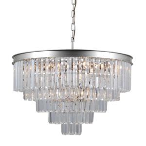 Srebrna Lampa Wisząca Verdes E14 11-punktowa small 1