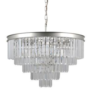 Srebrna Lampa Wisząca Verdes E14 11-punktowa small 0