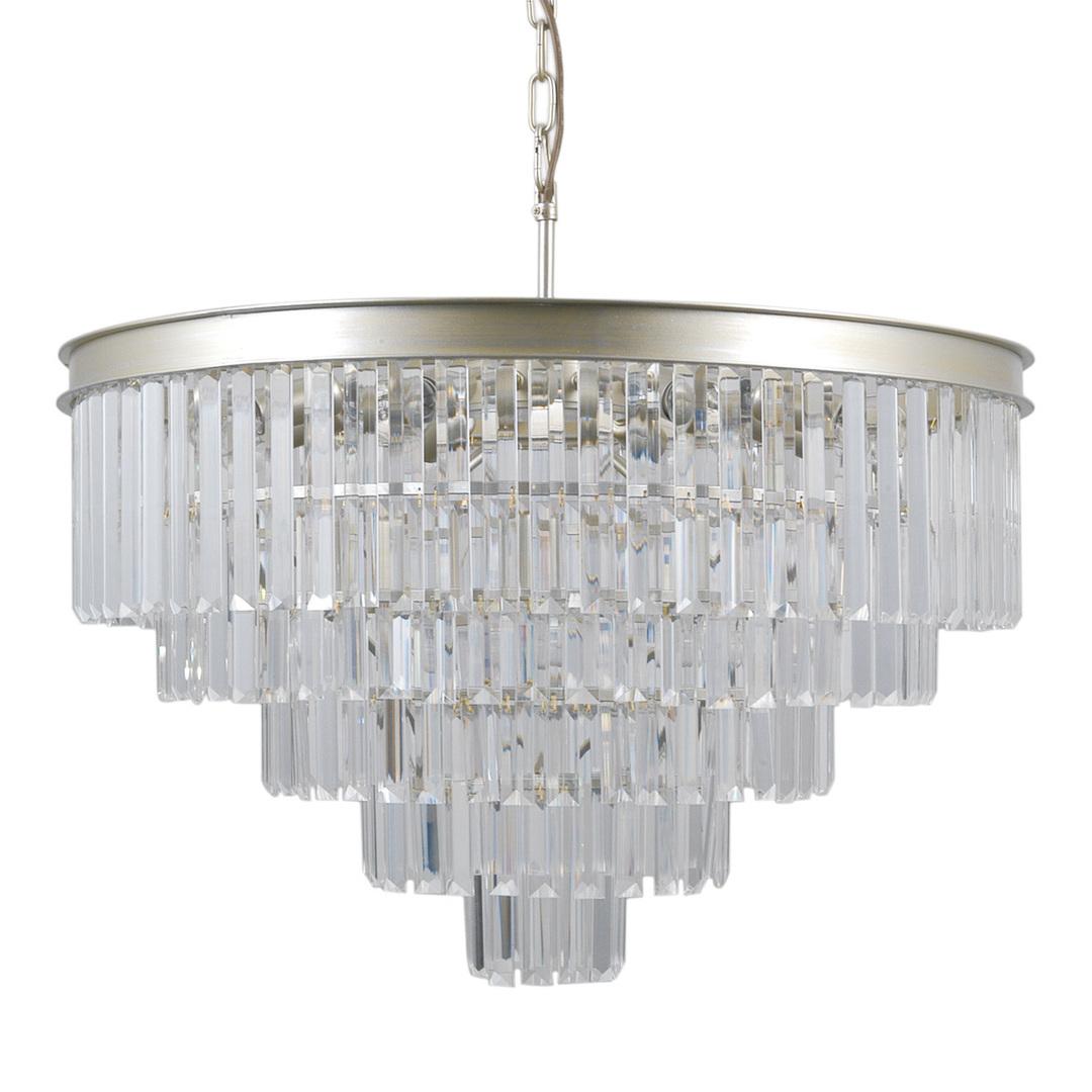 Złota Lampa Wisząca Verdes E14 11-punktowa