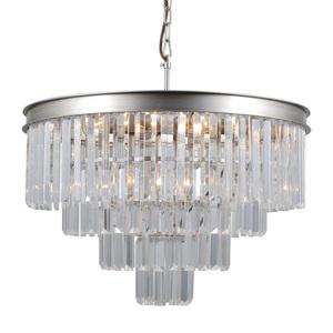 Srebrna Lampa Wisząca Verdes E14 8-punktowa small 1
