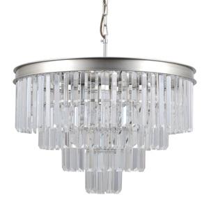 Srebrna Lampa Wisząca Verdes E14 8-punktowa small 0