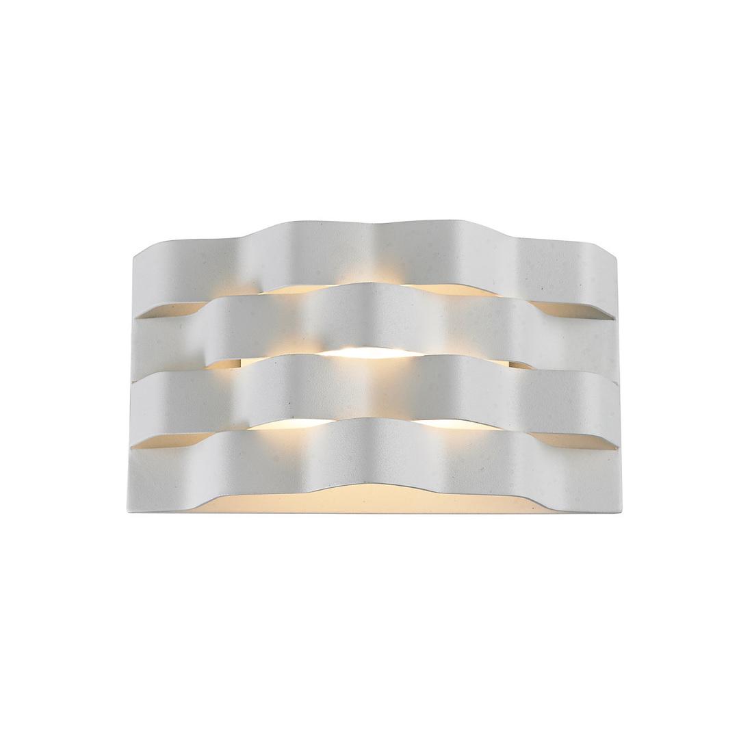 Biały Nowoczesny Kinkiet Verigo LED