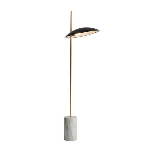 Czarna Lampa Stojąca Vilai LED