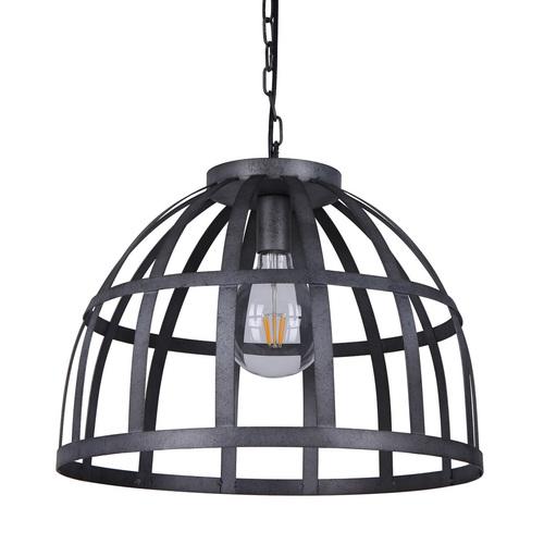Srebrna Lampa Wisząca Calera E27