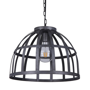 Srebrna Lampa Wisząca Calera E27 small 0