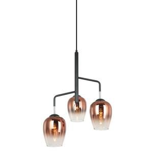 Nowoczesna Lampa Wisząca Lesla E27 3-punktowa small 0