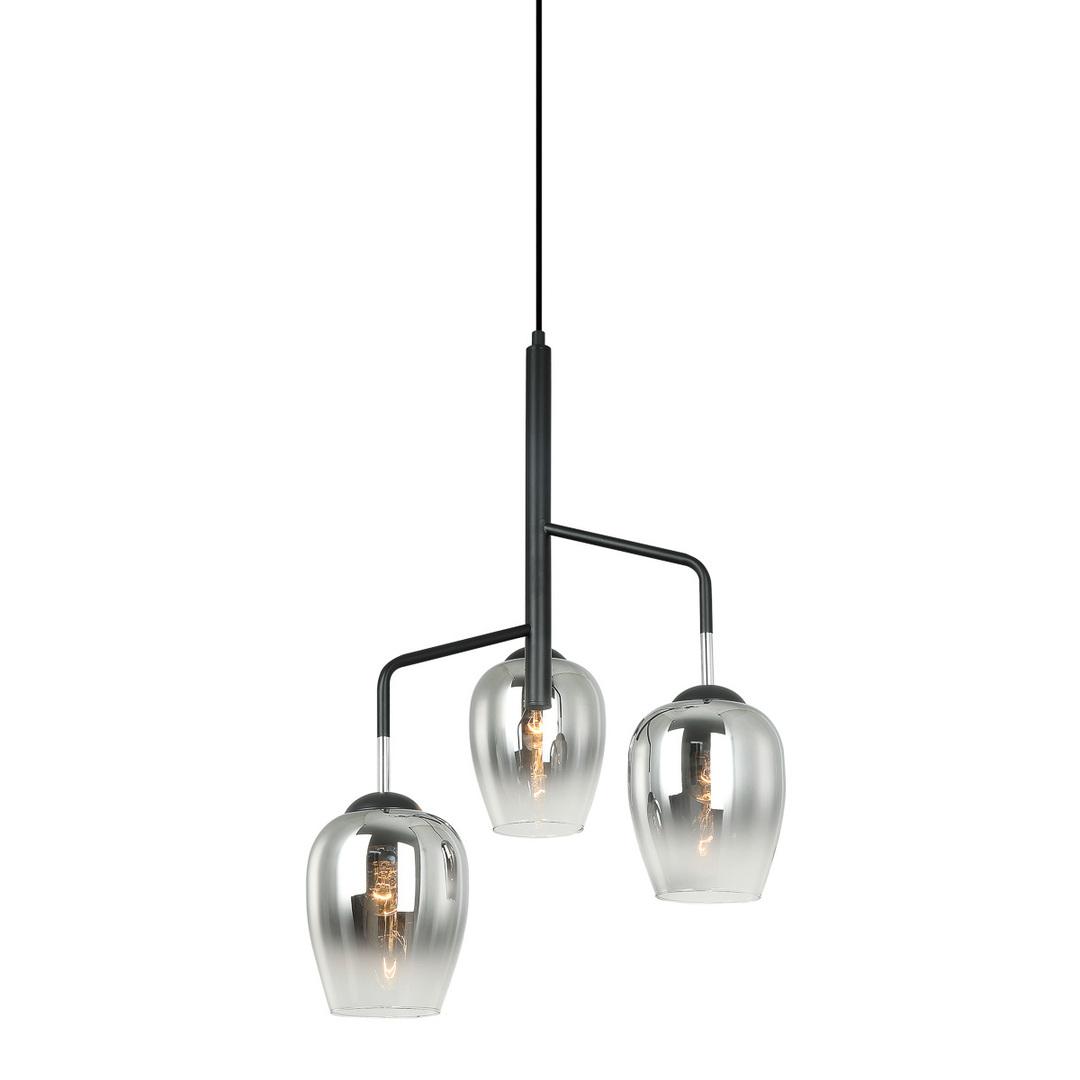 Nowoczesna Lampa Wisząca Lesla E27 3-punktowa