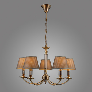 Klasyczna Lampa Wisząca Zanobi E14 5-punktowa small 2