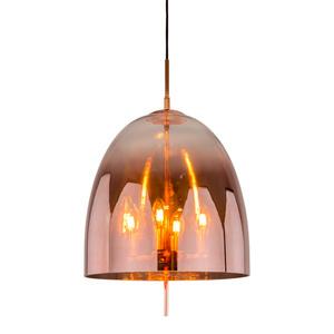 Miedziana Lampa Wisząca Alan E14 4-punktowa small 0