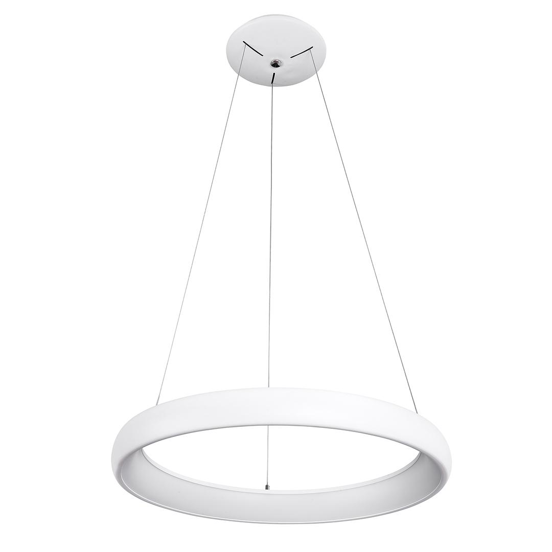 Biała Lampa Wisząca Alessia LED