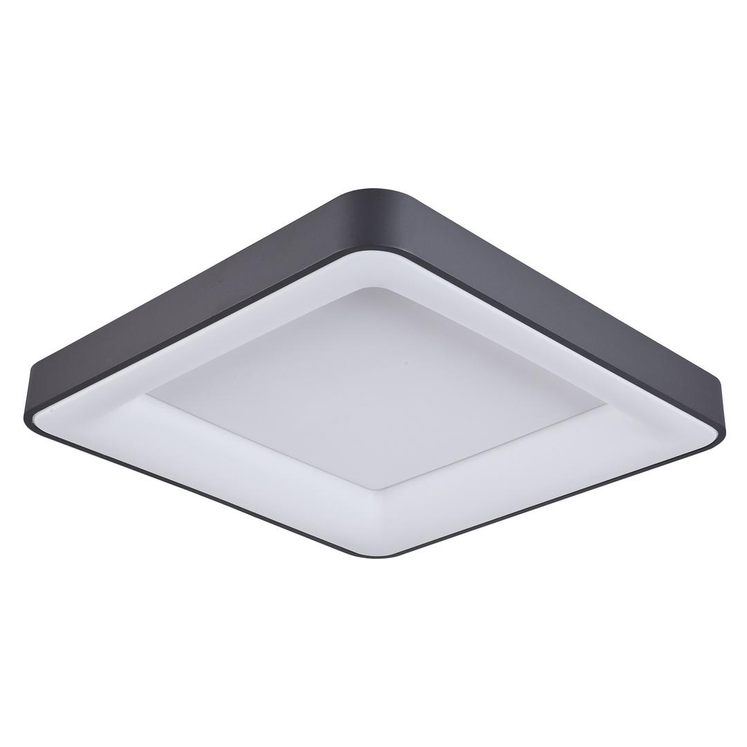 Nowoczesny Czarny Plafon Giacinto LED