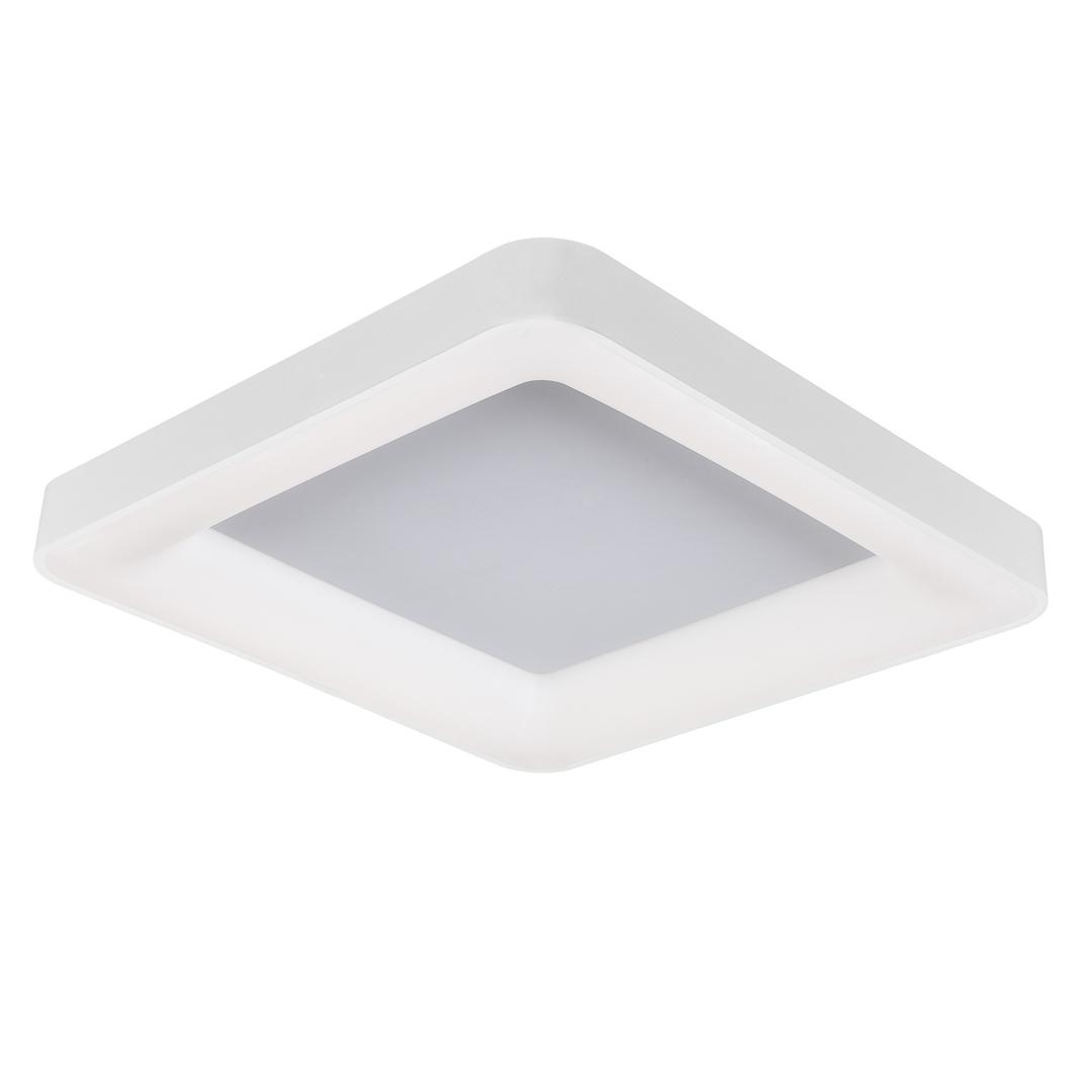 Biały Nowoczesny Plafon Giacinto LED