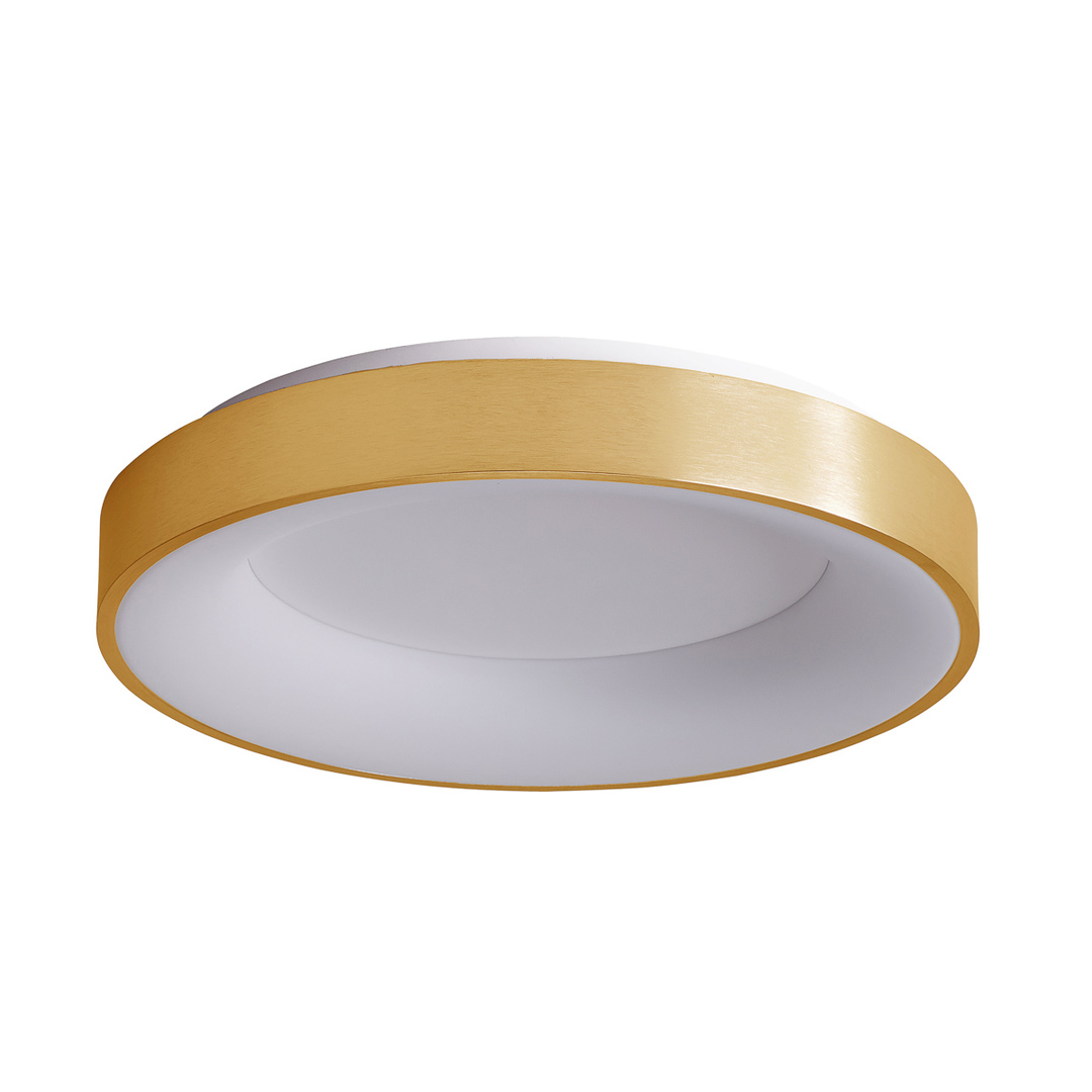 Złoty Nowoczesny Plafon Giulia LED
